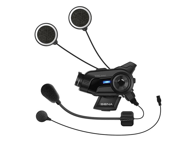 Sena 10C Pro Bluetooth-Kamera und Kommunikations-System für Motorräder Foto 2