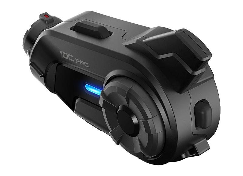 Sena 10C Pro Bluetooth-Kamera und Kommunikations-System für Motorräder Foto 3