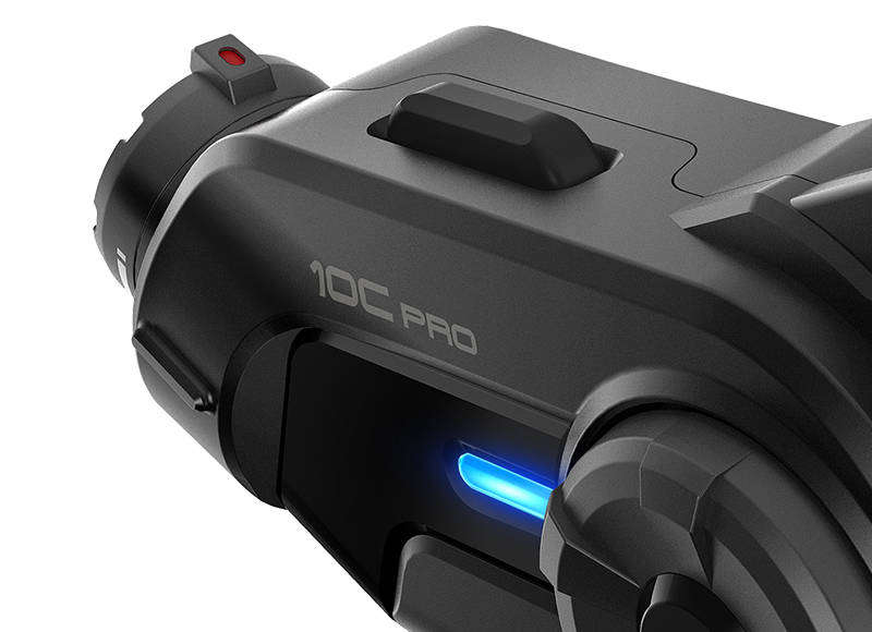 Sena 10C Pro Bluetooth-Kamera und Kommunikations-System für Motorräder Foto 4