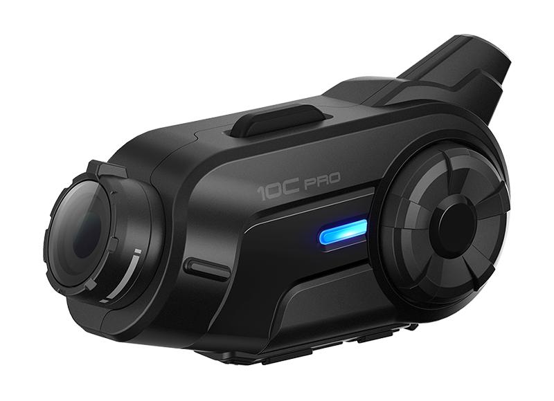 Sena 10C Pro Bluetooth-Kamera und Kommunikations-System für Motorräder Foto 5