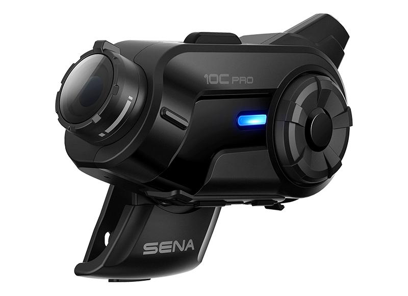 Sena 10C Pro Bluetooth-Kamera und Kommunikations-System für Motorräder Foto 6