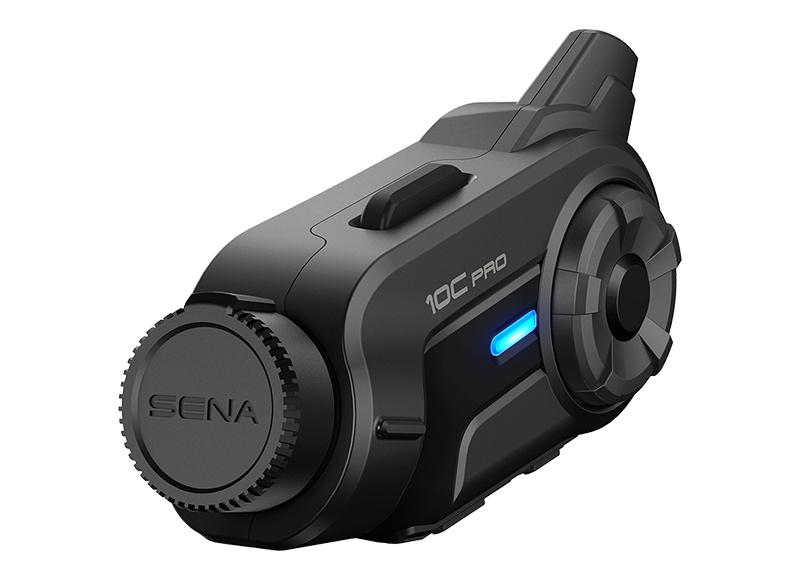 Sena 10C Pro Bluetooth-Kamera und Kommunikations-System für Motorräder Foto 7