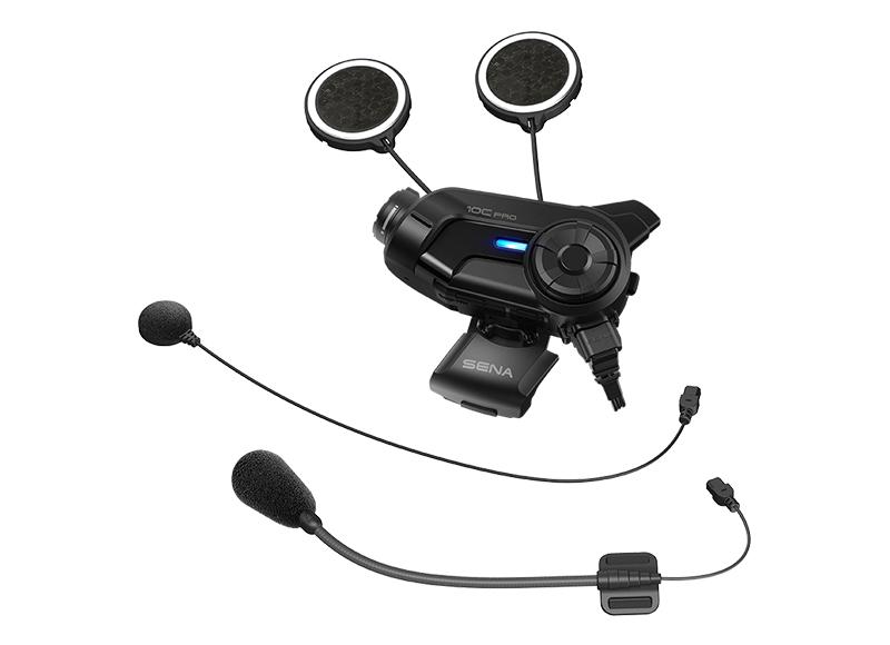 Sena 10C Pro Bluetooth-Kamera und Kommunikations-System für Motorräder Foto 8