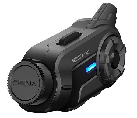 Sena 10C Pro Bluetooth-Kamera und Kommunikations-System für Motorräder - KONZIPIERT, UM ALLE ABENTEUER FESTZUHALTEN