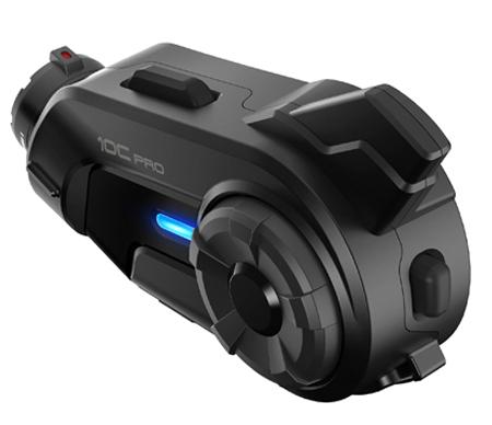 Sena 10C Pro Bluetooth-Kamera und Kommunikations-System für Motorräder - VIER-WEGE-KOMMUNIKATION ÃœBER UNIVERSAL INTERCOM