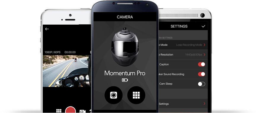 Sena 10C Pro Bluetooth-Kamera und Kommunikations-System für Motorräder - MIT DEN SENA SMARTPHONE APPS IN VERBINDUNG BLEIBEN UND DIE KONTROLLE BEHALTEN