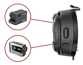 10S Bluetooth 4.1 Class 1 Stereo Multipair Headset mit Intercom Bluetooth Sprechanlage - Mit anderen Sena-Produkten koppeln um Ihren Spass mit der Kamera festzuhalten.