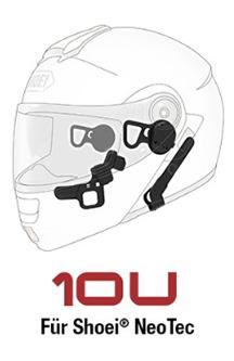 SENA 10U - Bluetooth 4.0 Stereo Headset mit Interkom speziell für Shoei NeoTec Helme