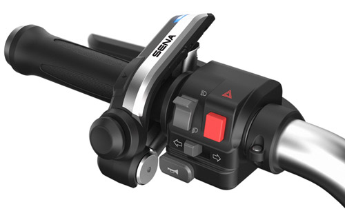 SENA Bluetooth 4.1 Handlebar Remote for controling of the 20S, 10U, 10C and des neuen 10R headsets
