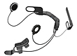 SENA 10U Bluetooth 4.0 Stereo Headset with intercom for helmets of Schuberth, Shoei and Arai