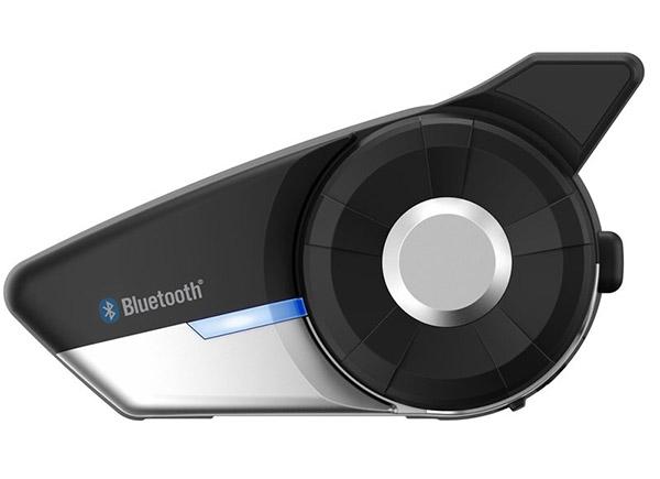 SENA 20S EVO Bluetooth 4.1 Stereo Multipair Headset mit Intercom Bluetooth. Das neue High-End Headset mit einer Reichweite bis zu 2,4 km, bis 9 Teilnehmer und Gruppen und neuer Antenne