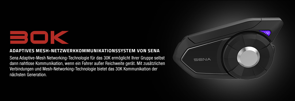 Sena 30K Adaptives Bluetooth Mesh Netzwerk Kommunikationssystem