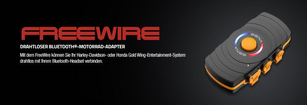 Sena FreeWire Bluetooth Adapter f�r Harley und Honda Infotainment-Systeme
