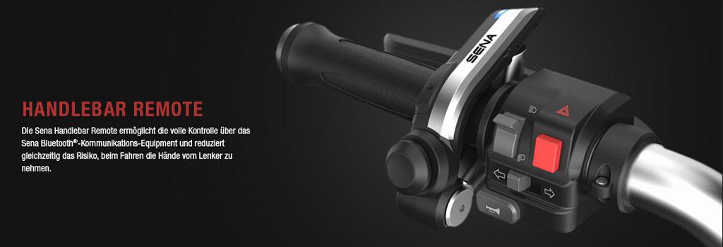 SENA Bluetooth 4.1 Lenkerfernbedienung zur Steuerung des 20S, 10U, 10C und des neuen 10R Headset