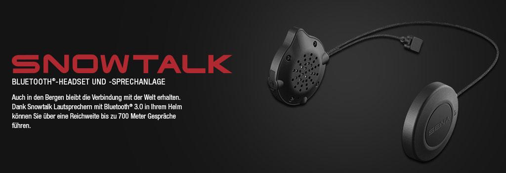 SENA Snowtalk Bluetooth 3.0 Headset für Ski- und Snowboardfahrer