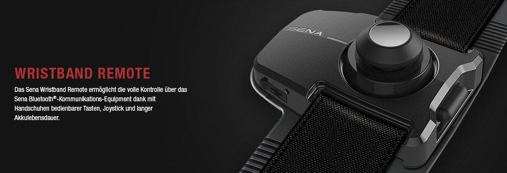 SENA SC-WR-01 Bluetooth 4.1 Wristband Remote eine Fernbedienung für das Handgelenk zur Steuerung des 20S, 10U, 10C und des neuen 10R Headset