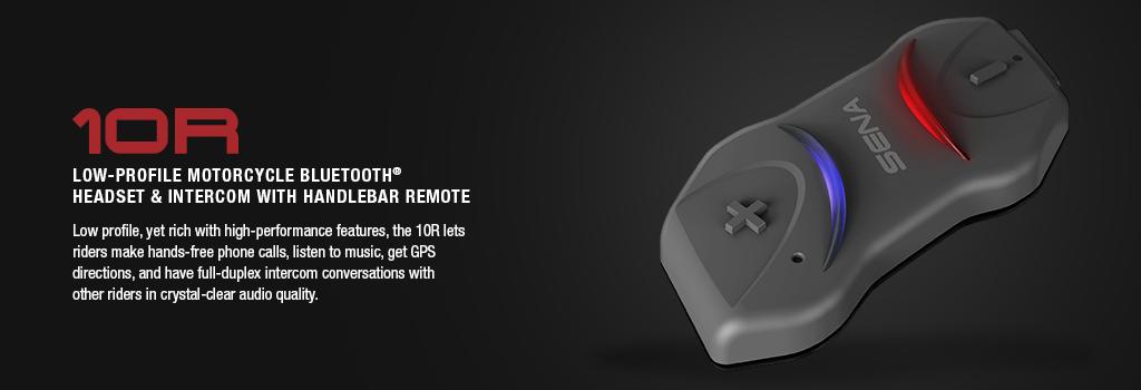 0R Bluetooth 4.1 Class 1 Stereo Headset with long-range Bluetooth Intercom for Sport Bike Riders
