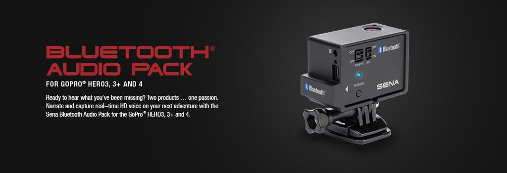 Bluetooth Pack für GoPro Kameras