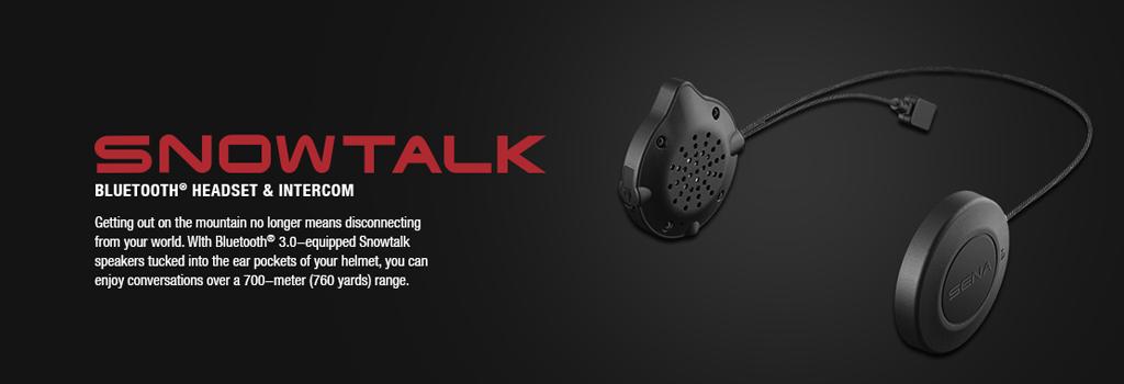 SENA Snowtalk Bluetooth 3.0 Headset f�r Ski- und Snowboardfahrer