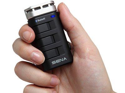 Das SENA BT10 ist ein sehr universelles Bluetooth Hi-Fi Mikrofon welches auch als Interkom Gegensprechanlage mit bis zu 350m Reichweite genutzt werden kann