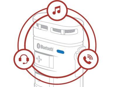 Sena BT10 - Universelles Bluetooth Hi-Fi Mikrofon mit Interkom und bis zu 500m Reichweite