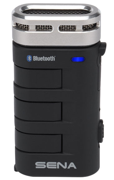 Details of the universal Bluetooth Hi-Fi microphone with interkom and up to 500m.