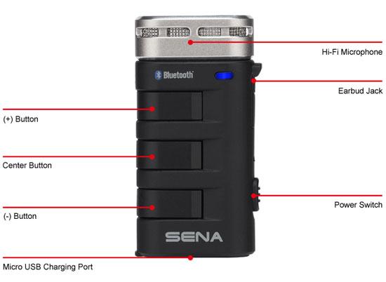 Details des Universelles Bluetooth Hi-Fi Mikrofon mit Interkom und bis zu 500m Reichweite.