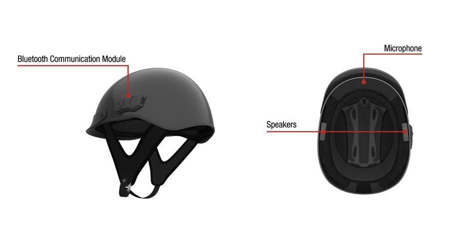 Hantz+Partner - Sena Cavalry Bluetooth Half Helmet