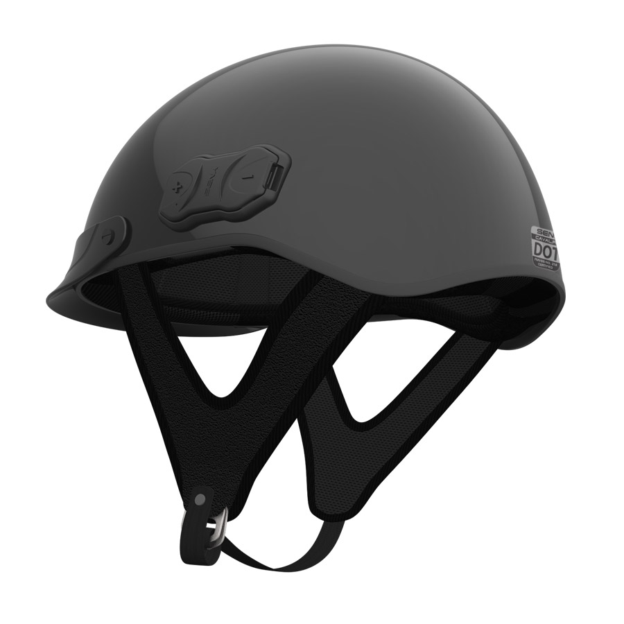 Sena Cavalry - Half helmet with built-in Bluetooth headset