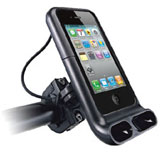 The perfect iPhone mount for motorcycle, scooter, quad and bike
