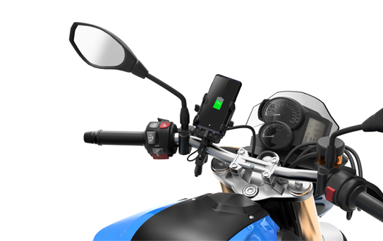 Sena PowerPro Mount - Handlebar mount with integrated portable battery pack