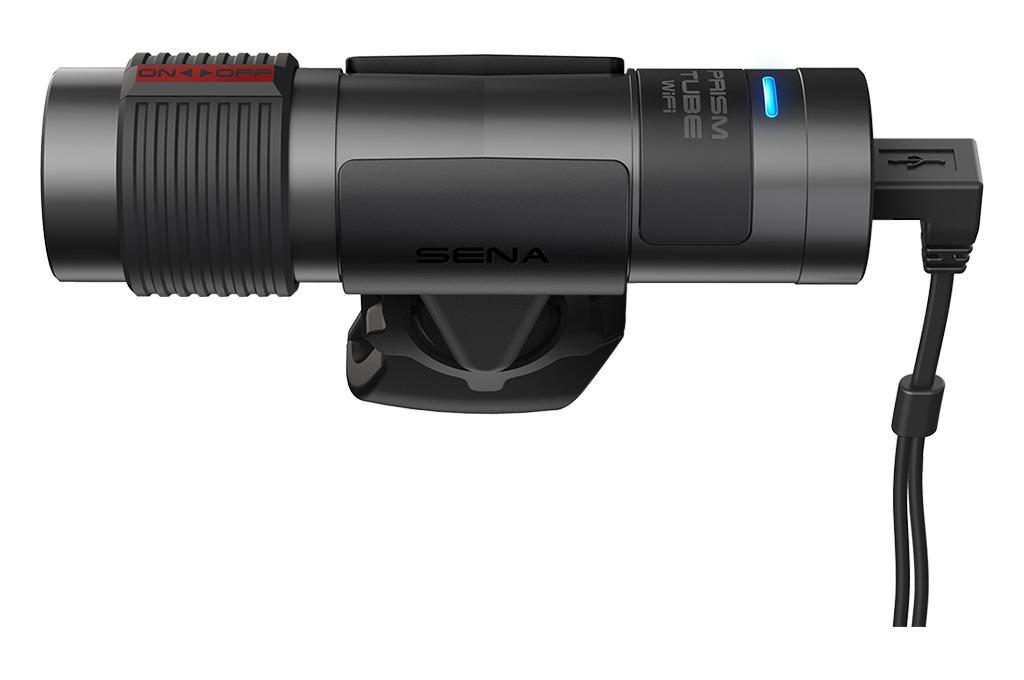 Sena Prism Tube Wifi, am Helm befestigte Action-Kamera mit Wifi Foto 2