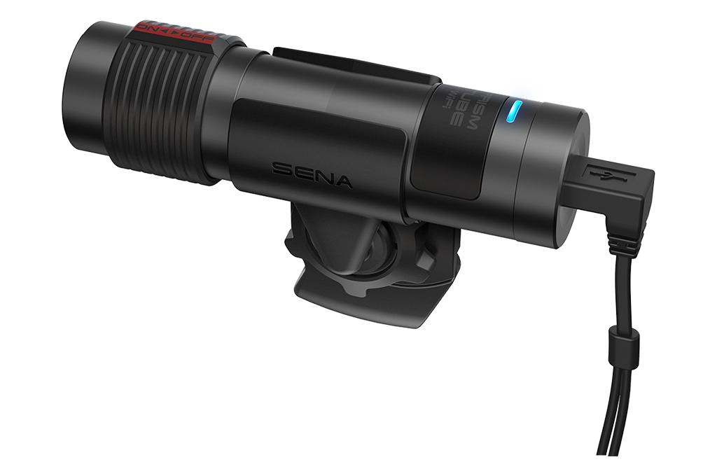 Sena Prism Tube Wifi, am Helm befestigte Action-Kamera mit Wifi Foto 9