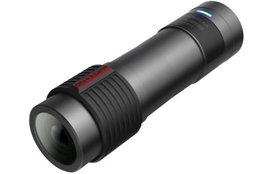 Sena Prism Tube Wifi, am Helm befestigte Action-Kamera mit Wifi - HOHE 2K-QUALITÄT, FLACHES DESIGN