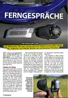 "Review of the German magazin""Reise Motorrad"" issue 6/2011"