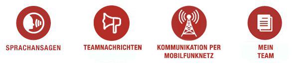 Wichtige Funktionen der Sena RideConnected App für das Sena Headsets