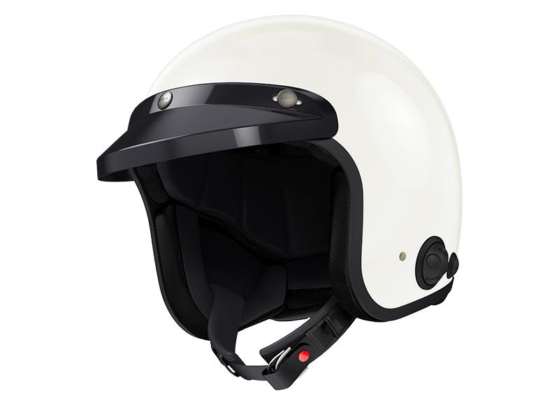 Sena Savage offener Jet-Helm mit integriertem Bluetooth und eingebauten HD-Lautsprechern Pro Foto 4