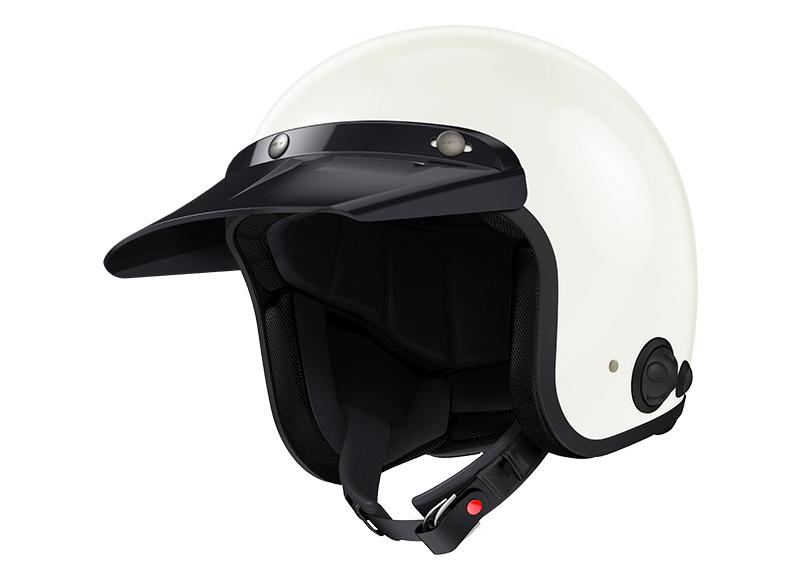 Sena Savage offener Jet-Helm mit integriertem Bluetooth und eingebauten HD-Lautsprechern Foto 10