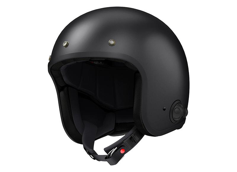 Sena Savage offener Jet-Helm mit integriertem Bluetooth und eingebauten HD-Lautsprechern Foto 8