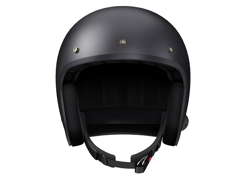 Sena Savage offener Jet-Helm mit integriertem Bluetooth und eingebauten HD-Lautsprechern Foto 3