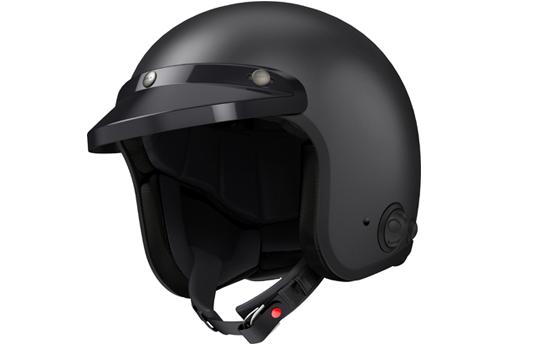 Sena Savage offener Jet-Helm mit integriertem Bluetooth und eingebauten HD-Lautsprechern - Vernetzt fahren mit dem schnittigen Helm, der auf Ihren persönlichen Stil abgestimmt ist