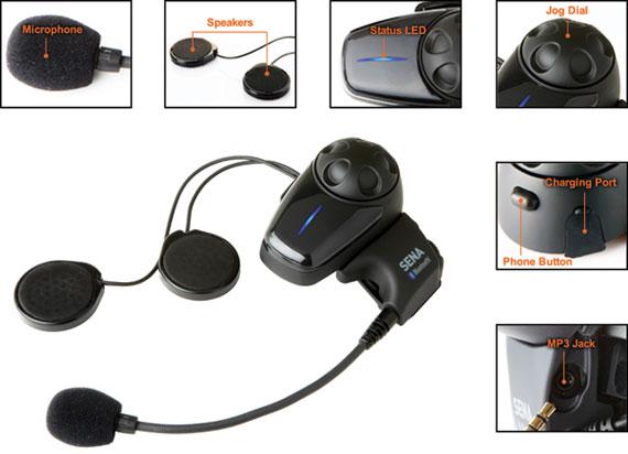 SMH10 - Bluetooth Stereo Headset Einzelteile und Beschreibung