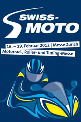 Swiss Moto Z&uuml;rich - 17. to  20. February 2011 - You will find us at hall 4, booth C11