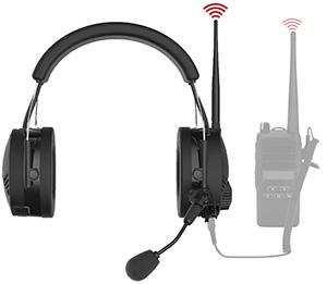 Sena Tufftalk - Gehörschutz-Headset mit Bluetooth und Gegensprechanlage