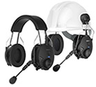 Sena Tufftalk Earmuff Bluetooth Communication and Intercom Headset