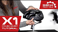 Video Tech Talk: Sena X1 Smart Cycling Helmet Tutorial